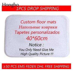 Hongbo Home Decor Printed Door Mat Bathroom Kitchen Floor Mat Carpets Rug Indoor DIY Customized Doormat(China)