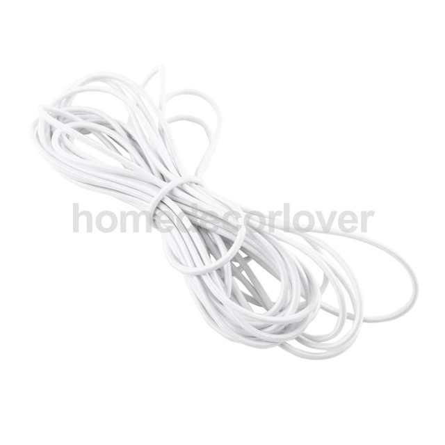 Online Shop 3mm X 5 Meters Elastic Bungee Rope Shock Cord Tie Down