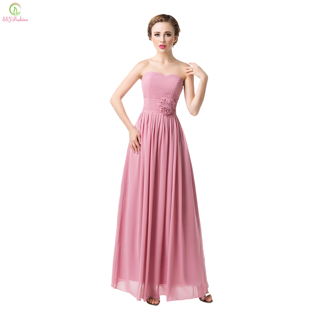 Hot Sell Ssyfashion Summer Sexy Formal Dress Bridal Party Formal