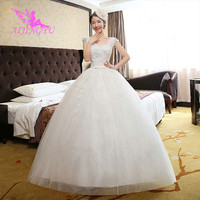 AIJINGYU dresses comunion weding plus size wedding dress WK471