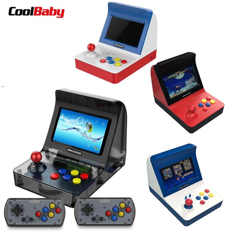 Portable Rétro Jeu Console 4.3 pouce 64bit 3000 Vidéo Jeux classique Mini Handheld Famille Jeu Lecteur Cadeau RÉTRO ARCADE