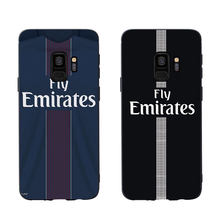 RKQ PSG Jersey Style Phone Case Cover For Samsung Galaxy S6 S7 edge S8 plus S9 plus S10e plus lite Soft Case(China)