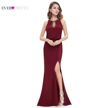 Evening Dress Ever Pretty EP08383 2017 New Arrival Elegant Neckline Women Long Sexy On Line Plus Size Evening Gown Dress