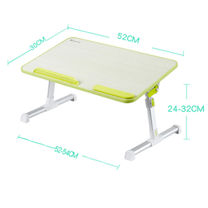 Image 5 - Ayarlanabilir dizüstü masası Çok Fonksiyonlu Bilgisayar Masası Öğrenciler Yurdu Basit Çalışma Masası Katlanır Taşınabilir Yatak Masası