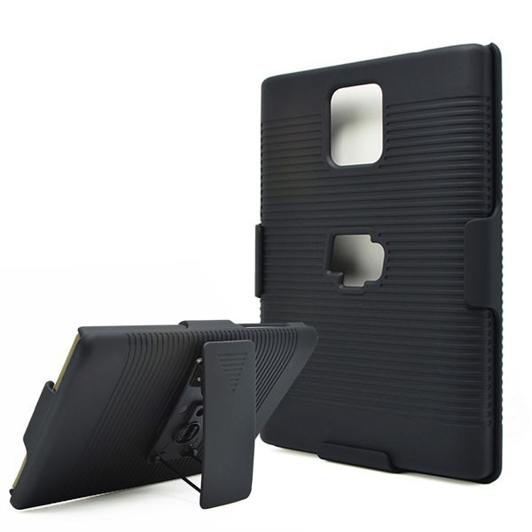 Hot Sale Black Belt Clip Swivel Kickstand Holster Case Cover for BlackBerry Passport Q30 Unti slip Case Free shipping