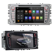Android 5.1 7 Inch Car Dash DVD Player GPS 3G WIFI Quad Core / 16GB / Bluetooth for Ford Focus Mondeo Tourneo Transit 2006-11