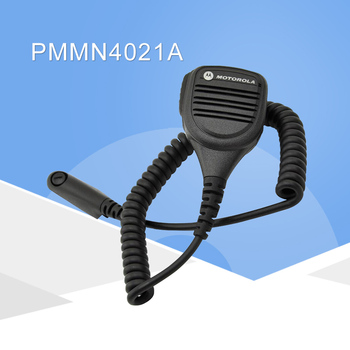 Mag um por motorola pmmn4021a remoto alto-falante microfone com 3.5mm jack de áudio para motorola gp328 ht1250 ht750 mtx950 mtx8250
