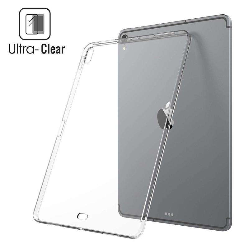 Case For IPad Pro 12.9 2015 2017 360 Full Protective Soft TPU Cover For IPad 12.9