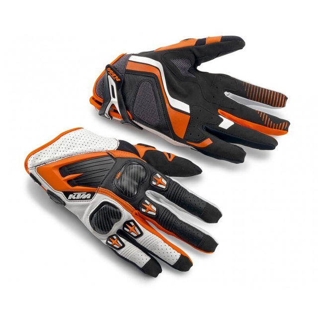 KTM moto cycling gloves cycling gloves sport gloves  racing motorcycle Rally gloves Enduro Motocross Leather MX Off Road