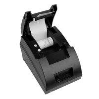 NEW 58mm POS Thermal Dot Receipt Bill Printer USB Mini Set Roll Paper POS 5890C Free