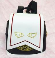 Women Gilr Anime Card Captor Sakura Kinomoto Lolita Magic School Shoulder Bag Backpack Gift