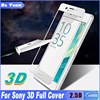 Toughened Glass Film For Sony Xperia X XA X Performance XA Ultra C6 Full Cover 3D Curved Surface Tempered Glass Screen Protector