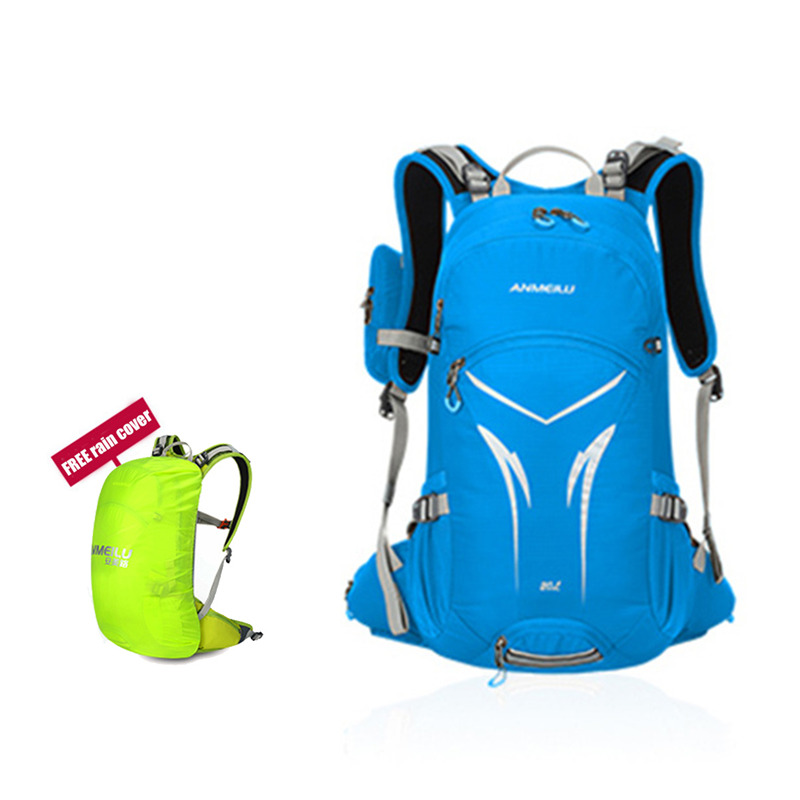 2017 New Arrival ANMEILU Outddor Backpack 20L Waterproof Rucksack for Hiking Camping Breathable Shoulderbag With Helmet Net