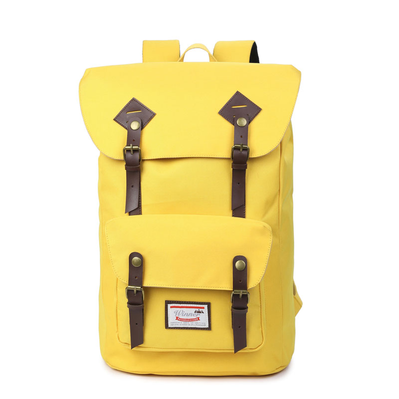 Large Capacity Oxford Backpack Bag For Teenager Boys Girls College Multi-Function Laptop Fashion Travel Bags School Bag Yellow augur to 15laptop canvas school bags for teenage boys college student computer book bag stylish large capacity travel men bag