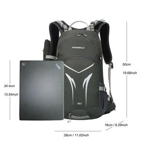 Image 2 - 20L دراجة حقيبة ظهر هيدراتية ، جبل المشي لمسافات طويلة التخييم سلم حقيبة المياه مع غطاء للمطر ، مقاوم للماء تشغيل حقيبة ظهر هيدراتية