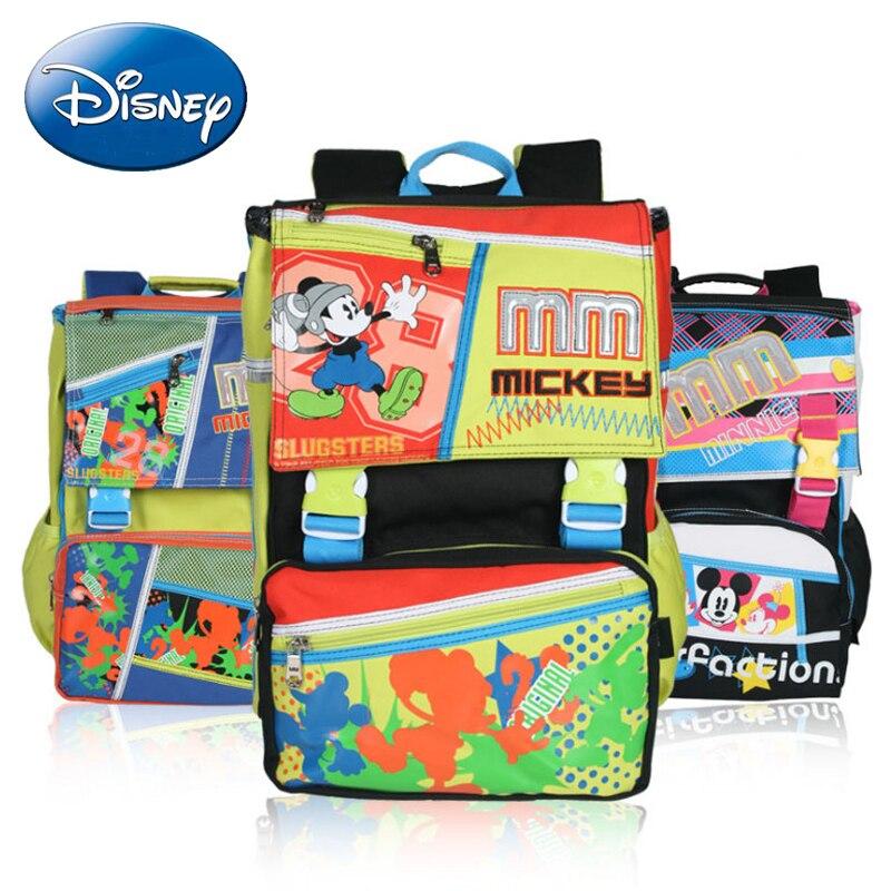 2018 Disney enfants sac à dos Minnie fille sacs d'école dessin animé enfants Mickey haute qualité garçon sacs à dos maternelle livre sac