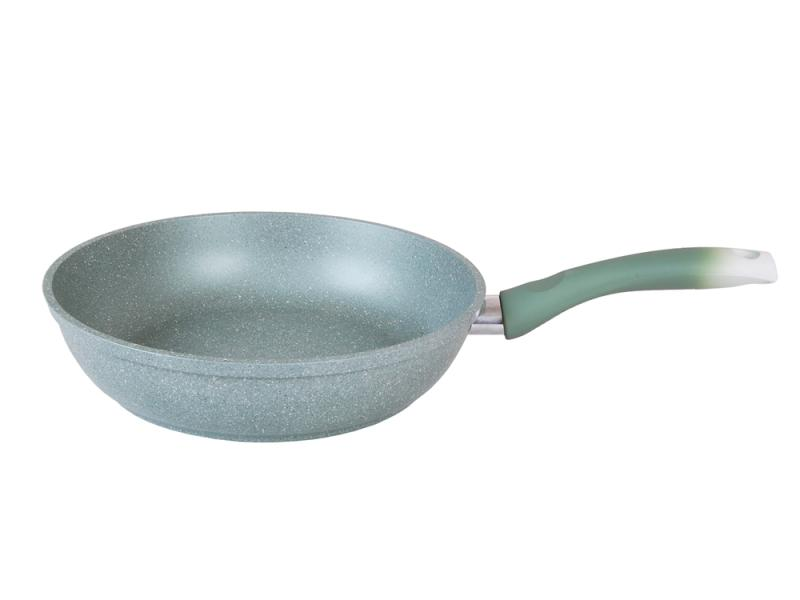 Frying Pan Kukmara, Marble, 26 cm, with handle 12 8 cm horizontal single joint potentiometer b10k t handle