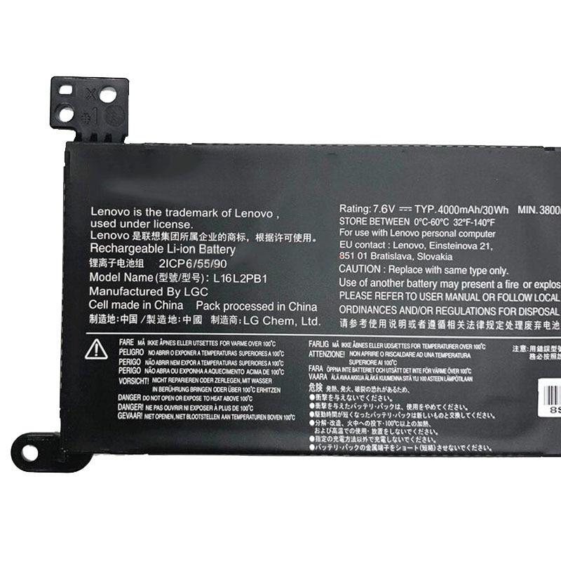 רשימת הקטגוריות GZSM סוללה למחשב נייד L16L2PB2 עבור Lenovo 5000 5000-15 סוללות סוללה L16S2PB2 עבור מחשב נייד L16C2PB2 2ICP6 / 55/90 סוללה (5)