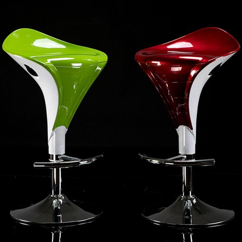 Lifting Rotating Bar Chair Chaise Home Bar Furniture Modern Industrial Bar Stool High Foot Chair Creative Beauty Stool