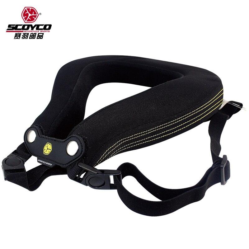 Scoyco N02B protecteur de cou de moto descente vtt vélo longue Distance course renfort de protection de cou de Motocross