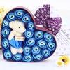 New-20pcs-Rose-Soap-Flowers-Bear-Soap-Flower-Gift-Box-5
