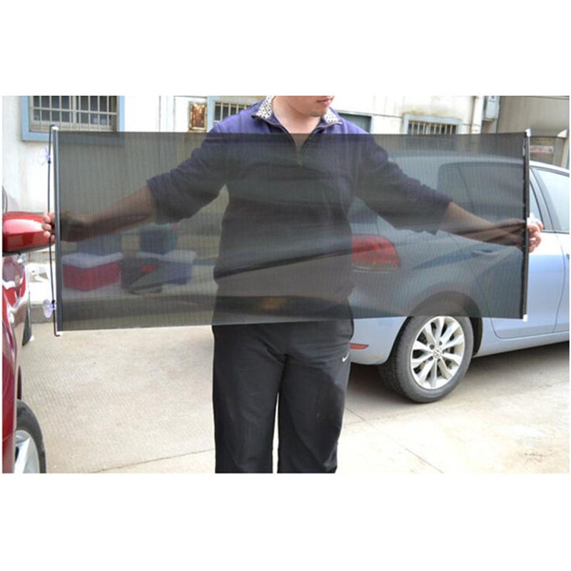 Image 4 - GSPSCN Retractable Car Front Rear Side Window Sunshades PVC Auto Windows Sun Shade Anti UV Protection Sun Visor For any Car-in Side Window Sunshades from Automobiles & Motorcycles