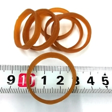 diameter 30mm width 4MM high elasticity nature  Study and office only holder rubber band