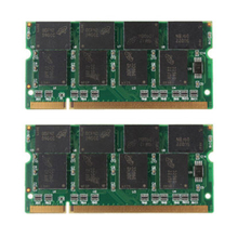 PROMOTION! 2GB 2X1GB PC2700 DDR 333 Non ECC 200 Pin CL2.5 Laptop (SODIMM) Memory (RAM) New