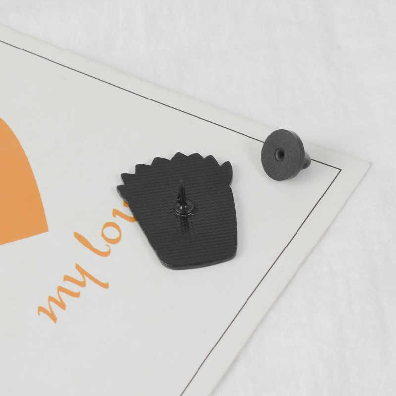 Pot Tanaman Pin Lezat Bros Lencana Kerah Pin Tanaman Perhiasan Hadiah untuk Pencinta Tanaman Wanita Gadis Pin dan Bros