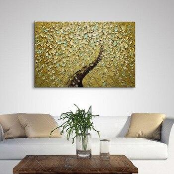 handmade oil painting on canvas modern 100%  Best Art Flower oil painting original  directly from artis  XD1-194