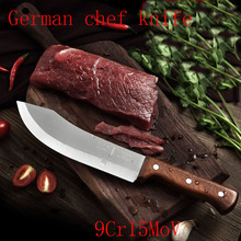 Free Shipping DEFAM Forged Stainless Steel Kitchen Boning Knife Slaughter Butcher Knives Eviscerate Meat/Bone Butcher Knife
