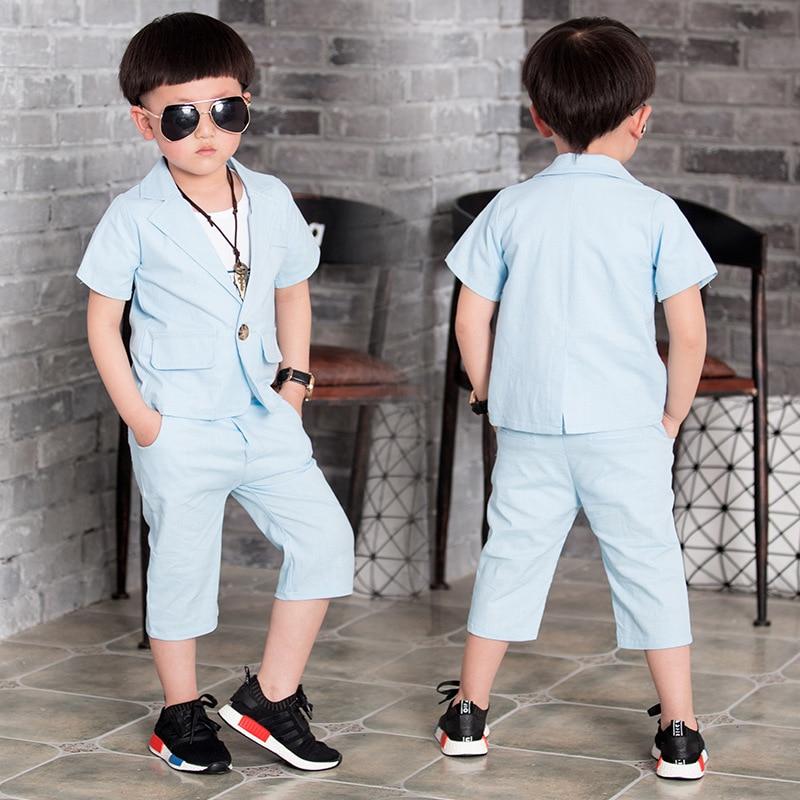 2016 Summer Children Suit Baby Boys Suits Kids Blazer For Wedding ...