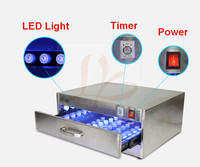 84W Drawer UV Curing oven machine UV Curing Box with 60 LED lights,6 Rows