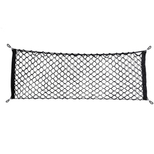 Фотография BEST Nylon Car Storage Net Mesh Hatchback Rear Luggage Cargo Trunk Storage Organizer Black 9x3.5x1cm