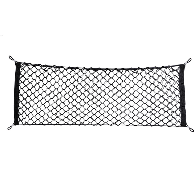 nylon car storage net mesh hatchback 90cm 35cm rear luggage cargo trunk extra storage organizer