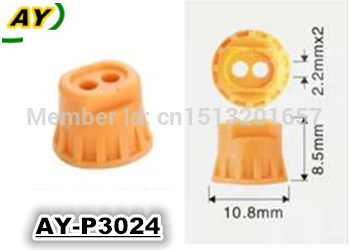 free shipping! 500pieces/set Whole sale fuel injector repair kit   plastic  pintle cap for AY-P3024