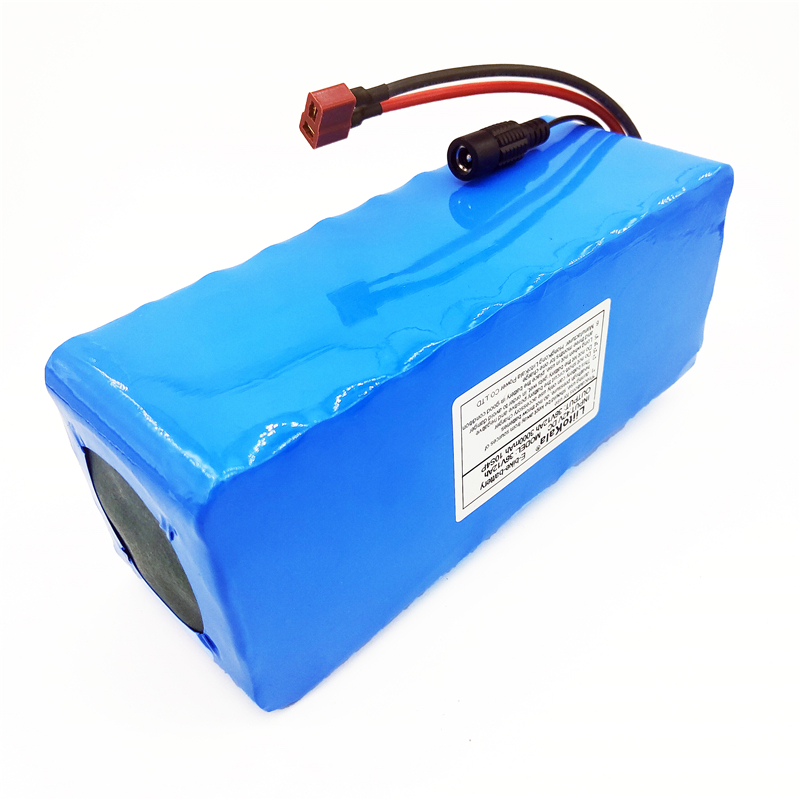 LiitoKala 36 v 10Ah 10S3P 18650 batterie Rechargeable, moto modifiée, chargeur de batterie de véhicule électrique li-lon + 36 V 2A char - 3