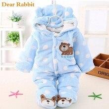Детское бархатное плотное пальто; зимняя одежда; боди для новорожденных; теплый комбинезон; зимняя одежда; комбинезоны для девочек; теплая одежда из хлопка; пальто