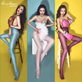 Hot Sexy Stockings High Waist Thigh Sexy Lingerie Ultrathin Stockings For Woman Open Crotch Panties Erotic Lingerie SW045