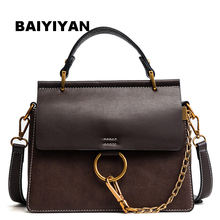 2018 New Circle Chain high quality fashion handbag women