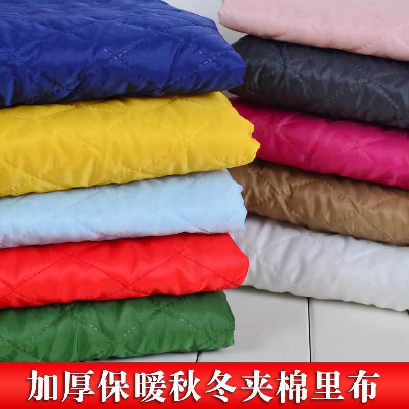 Engrossamento acolchoado entrelaçamento forro de tecido para o outono & inverno revestimento forro de algodão-acolchoado jaqueta cadeira almofada artesanal d20