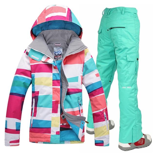 best loved 99d17 473da Giacca Pantaloni gsousnow Snowboard Da 2017 Donna 9Di ...