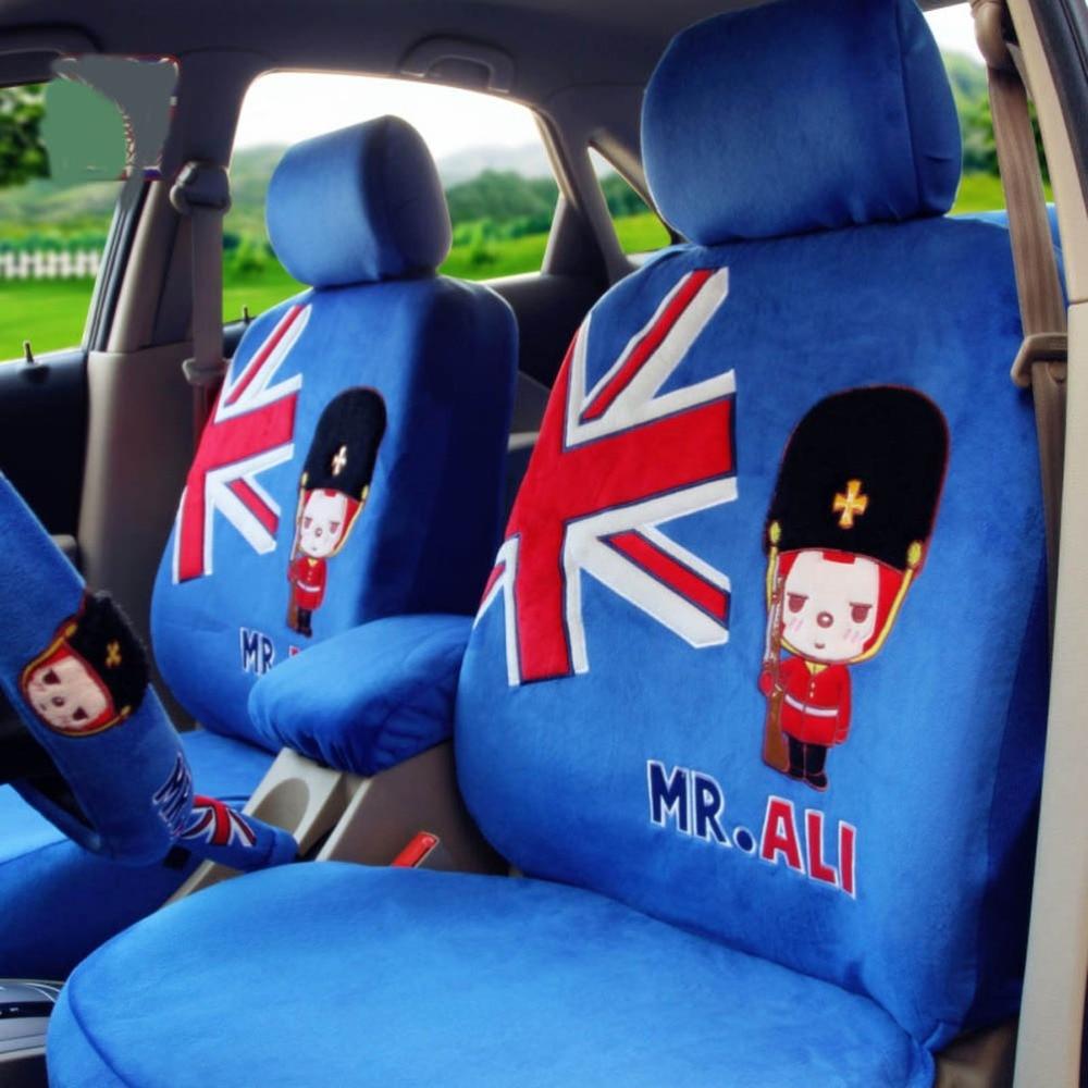 Admirable Mr Ali Universal Car Seat Covers 10Pcs Light Blue Ibusinesslaw Wood Chair Design Ideas Ibusinesslaworg