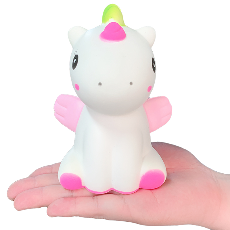 New Unicorn Dinosaur Squishy Cute Cartoon Doll Slow Rising Bread Cake Scented Squeeze Toy Stress Relief Fun For Kid Xmas Gift