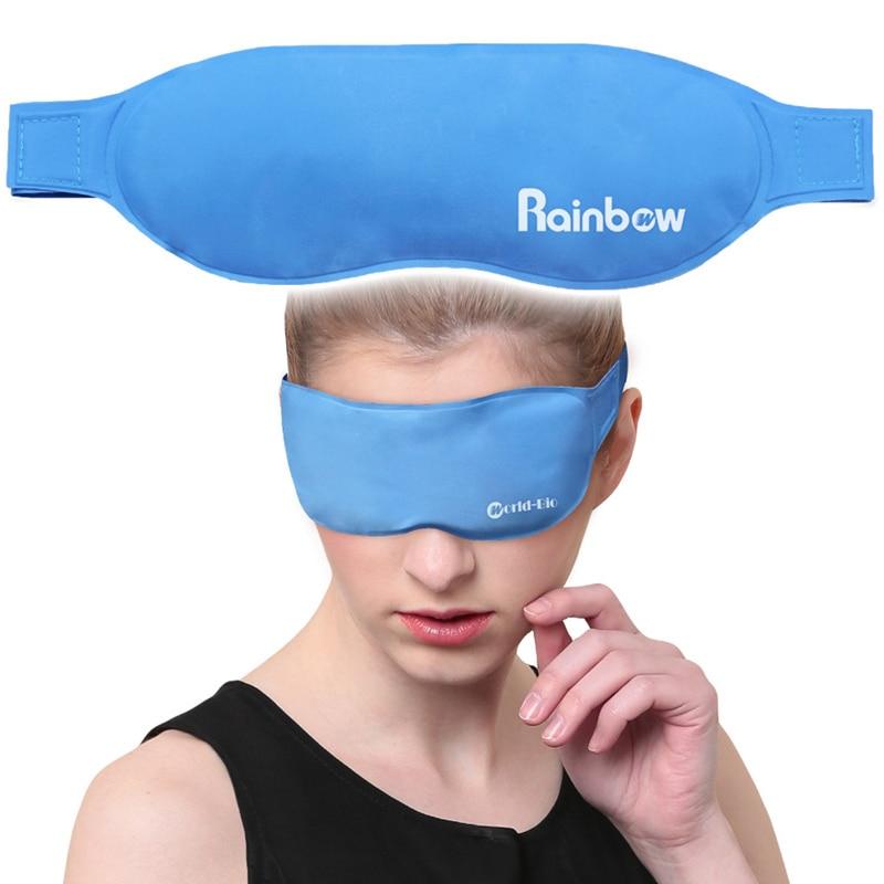 Gel Eye Mask Eye Care Cold Pack Ice Pack Physical Cooling & Antipyretics Health Elimination Eye Fatigue,Hot & Cold Sleep Masks