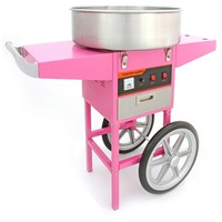 Commercial Cotton Candy Machine With Cart Candy Floss Machine Fairy Floss Machine Candy Maker
