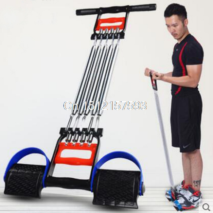 Multifunctional Detachable movement chest expander male sit ups pull rope spring arm apparatus home fitness equipment wave shape sit ups abdomenizer home fitness equipment multifunctional health web