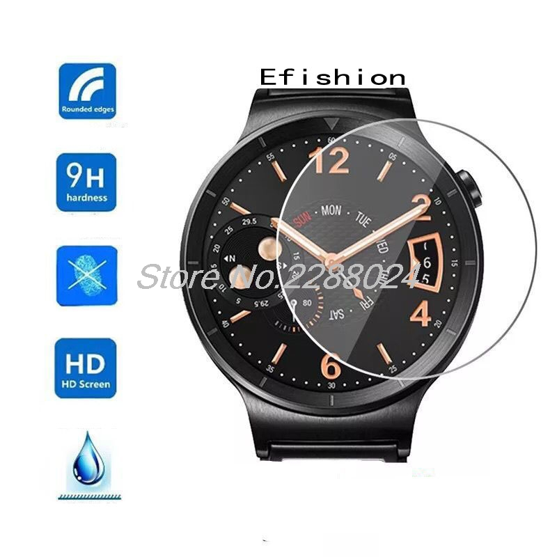 Tempered Glass Screen Protector Film For smartwatch Round diameter <font><b>23</b></font>/27/<font><b>30</b></font>/29/33/34/35/<font><b>36</b></font>/37/38/39/40/41/42mm image