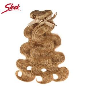 Image 3 - Tissage en lot brésilien Remy Body Wave coloré vison blond, 27 et 613, 10 à 26 pouces, Extension capillaire, livraison gratuite