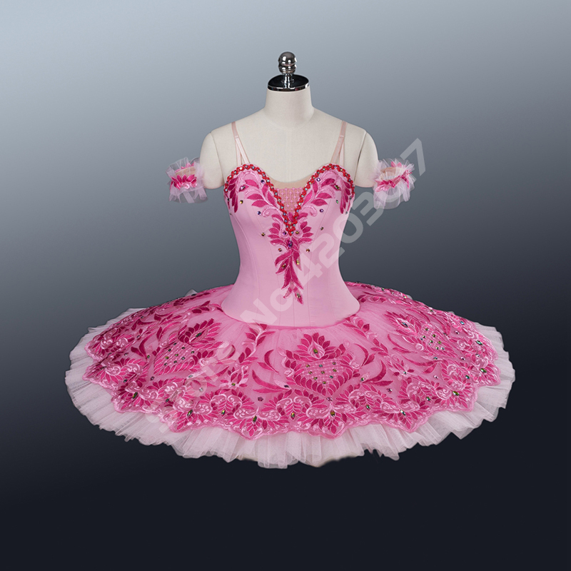 Adult Swan Dress Professional Ballet Tutu Pink Women ...